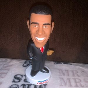 BARACK OBAMA 44th USA President Wacky Wobbler